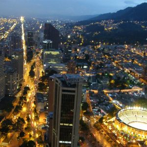 Tour a Bogotá de luces