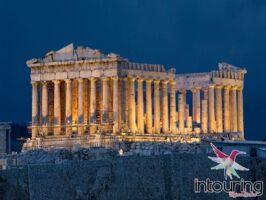 Tour a Europa con crucero a las islas Griegas